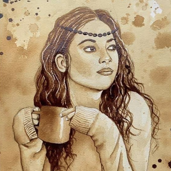 <strong> Coffee Painting</strong> </a></p>